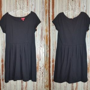 NWT Elle Leading Lady Black Fit Flare Dress Large